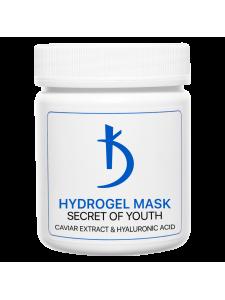 """Гидрогелевая маска для лица с гиалуроновой кислотой и экстрактом икры """"Secret of youth"""", 100гр."""