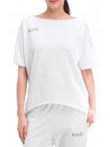 Футболка свободная с лого Kodi professional (цвет белый, размер XL)