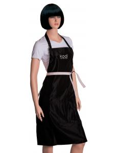 Фартук Kodi professional черный с серебряным логотипом (длинный)