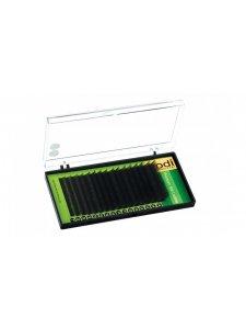 Ресницы фиолетовые B 0,15 (16 рядов: 10/12/14/16 mm), упаковка Green