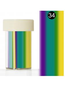 Фольга для литья в баночке (4*110 см) №34