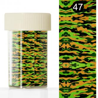 Фольга для литья в баночке (4*110 см) №47