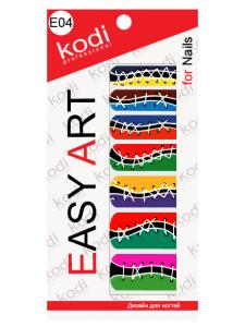 Слайдеры для ногтей (фотодизайн) Easy Art E04