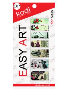 Фото - Слайдеры для ногтей (фотодизайн) Easy Art E07 от KODI PROFESSIONAL