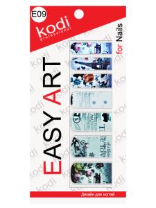 Слайдеры для ногтей (фотодизайн) Easy Art E09