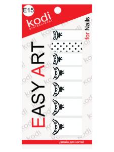 Фото - Слайдеры для ногтей (фотодизайн) Easy Art E15 от KODI PROFESSIONAL