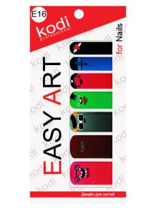 Фото - Слайдеры для ногтей (фотодизайн) Easy Art E16 от KODI PROFESSIONAL