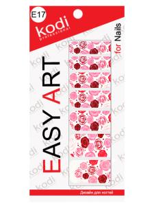 Слайдеры для ногтей (фотодизайн) Easy Art E17