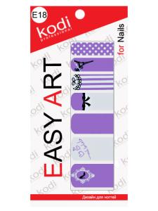 Слайдеры для ногтей (фотодизайн) Easy Art E18