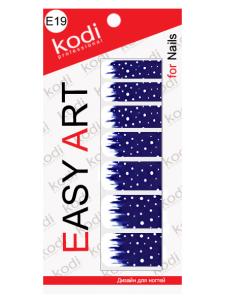 Слайдеры для ногтей (фотодизайн) Easy Art E19