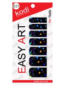 Слайдеры для ногтей (фотодизайн) Easy Art E21