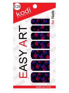 Слайдеры для ногтей (фотодизайн) Easy Art E26