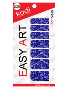Слайдеры для ногтей (фотодизайн) Easy Art E28