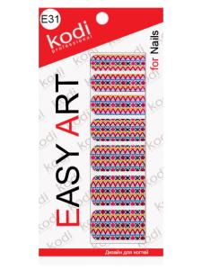 Слайдеры для ногтей (фотодизайн) Easy Art E31