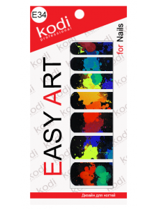 Слайдеры для ногтей (фотодизайн) Easy Art E34
