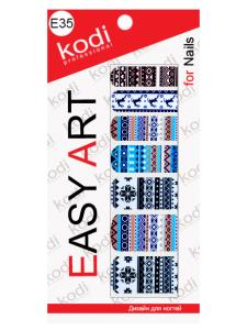 Слайдеры для ногтей (фотодизайн) Easy Art E35