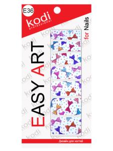 Слайдеры для ногтей (фотодизайн) Easy Art E36