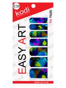 Слайдеры для ногтей (фотодизайн) Easy Art E38
