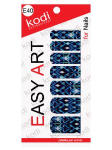 Слайдеры для ногтей (фотодизайн) Easy Art E40