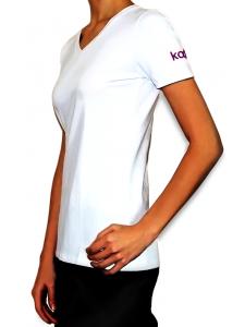 Фирменная футболка Kodi (цвет логотипа:фиолетовый). Размер: L