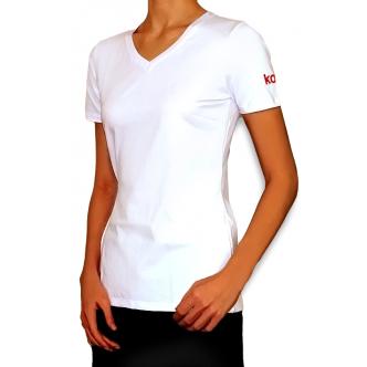 Фото - Фирменная футболка Kodi (цвет логотипа: красный). Размер L от KODI PROFESSIONAL