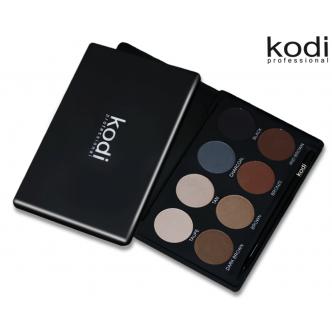 Eyebrow Kit Kodi professional Make-up (набор теней для коррекции бровей)