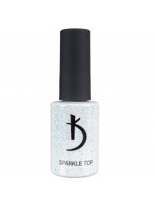 Sparkle Top - верхнее покрытие для гель-лака с блестками, 7 мл