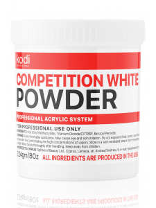 Competition White (Быстроотвердеваемый белый акрил) 224 гр.