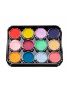 Набор цветных акрилов L1 (12 шт)