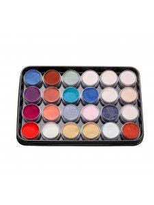 Набор цветных акрилов L3 (24 шт)