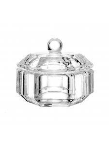 Прозрачный стаканчик с крышкой, 25 мл