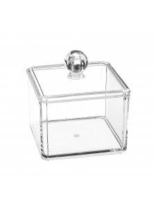 Органайзер косметический прозрачный (квадратный)