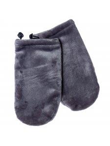 Махровые рукавички (цвет: серый)