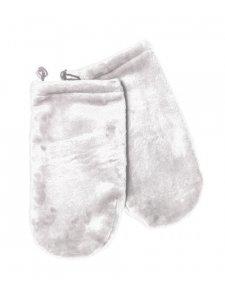 Махровые рукавички (цвет: дымчато-серый)