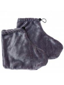 Махровые носочки (цвет: серый)