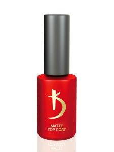 """Matte Top Coat """"Satin"""" - Матовое верхнее покрытие (топ/финиш) для гель-лака, 7мл."""
