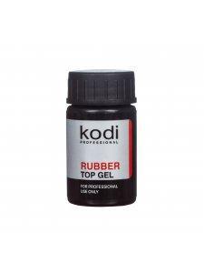 Rubber Top - Каучуковое верхнее покрытие (топ/финиш) для гель-лака, 14 мл.