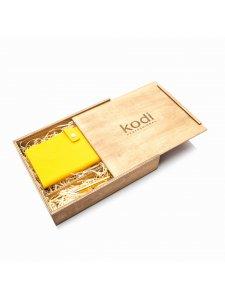 Органайзер для путешествий Travel case Kodi (цвет желтый)  в подарочной коробке