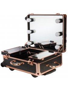Кейс-студия для визажистов №3 (черный диамант)
