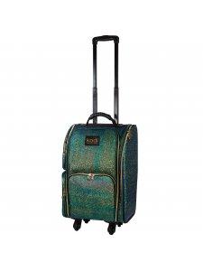 Кейс (чемодан) для косметики №28 (цвет: малахит)