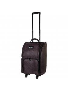 Кейс (чемодан) для косметики №28 (цвет: темный баклажан)