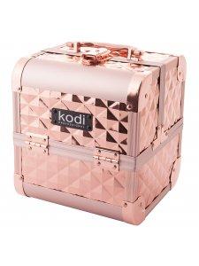 Кейс для косметики №33 (розовое золото)