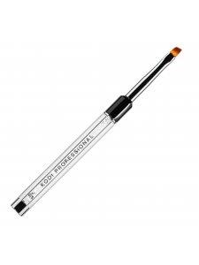 Кисть для гелевого моделирования №6/S (нейлон; ручка: металл, акрил)