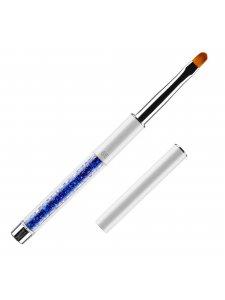Кисть для гелевого моделирования №6/E (нейлон; ручка: металл, акрил)