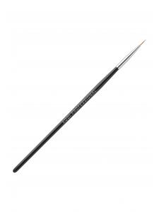 Кисть для росписи в тубусе №2 (нейлон, деревянная черная ручка)