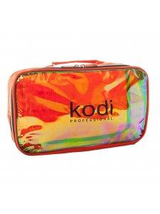 Косметичка Make-Up Kodi №11 (нейлон; цвет: темно-оранжевый, радуга)