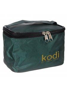 Косметичка c логотипом Kodi (зеленая)