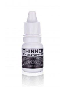 Thinner for gel eyeliner and eyebrow pomade (Размягчающее средство для гелевых подводок для глаз и гелевых помадок для бровей), 10мл