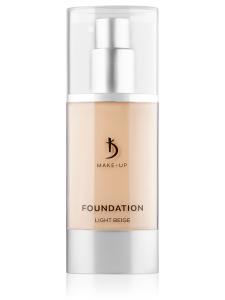 Foundation Light Beige Kodi Professional Make-up (тональный крем светло-бежевый), 40мл