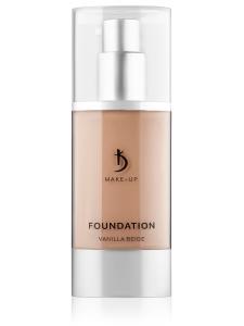 Foundation Vanilla Beige Kodi Professional Make-up (тональный крем ванильно-бежевый), 40мл
